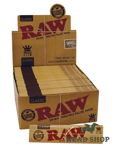 RAW Papers Long Slim  - 50 x