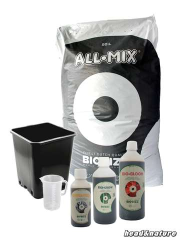 Bio-Bizz - Mantillo/Nutriente Kit - All-Mix