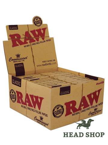 RAW Papers King size Slim + filtros - 24 x