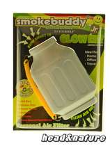 Filtro de aire personal SmokeBuddy Glow Junior Blanco #0