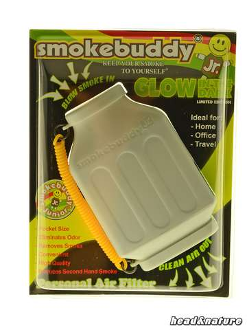Filtro de aire personal SmokeBuddy Glow Junior Blanco